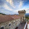 Castello di Amorosa, View from South Tower (Jim Sullivan)