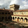 Castello di Amorosa, Courtyard After Rain (Jim Sullivan)